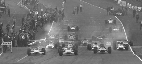 Results 1968 Formula 1 Grand Prix of Great Britain