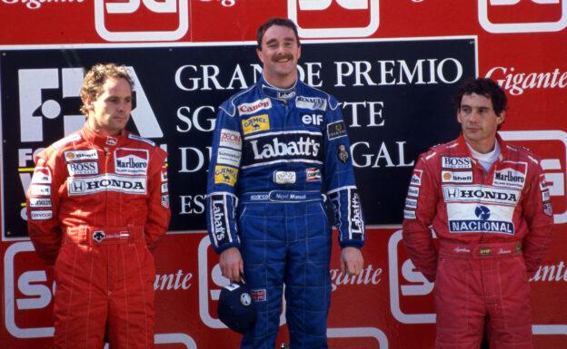 Results 1992 Formula 1 Grand Prix of Portugal