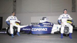 BMW Williams 2001 car laumch