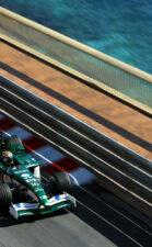 Eddie Irvine Jaguar Monaco 2002