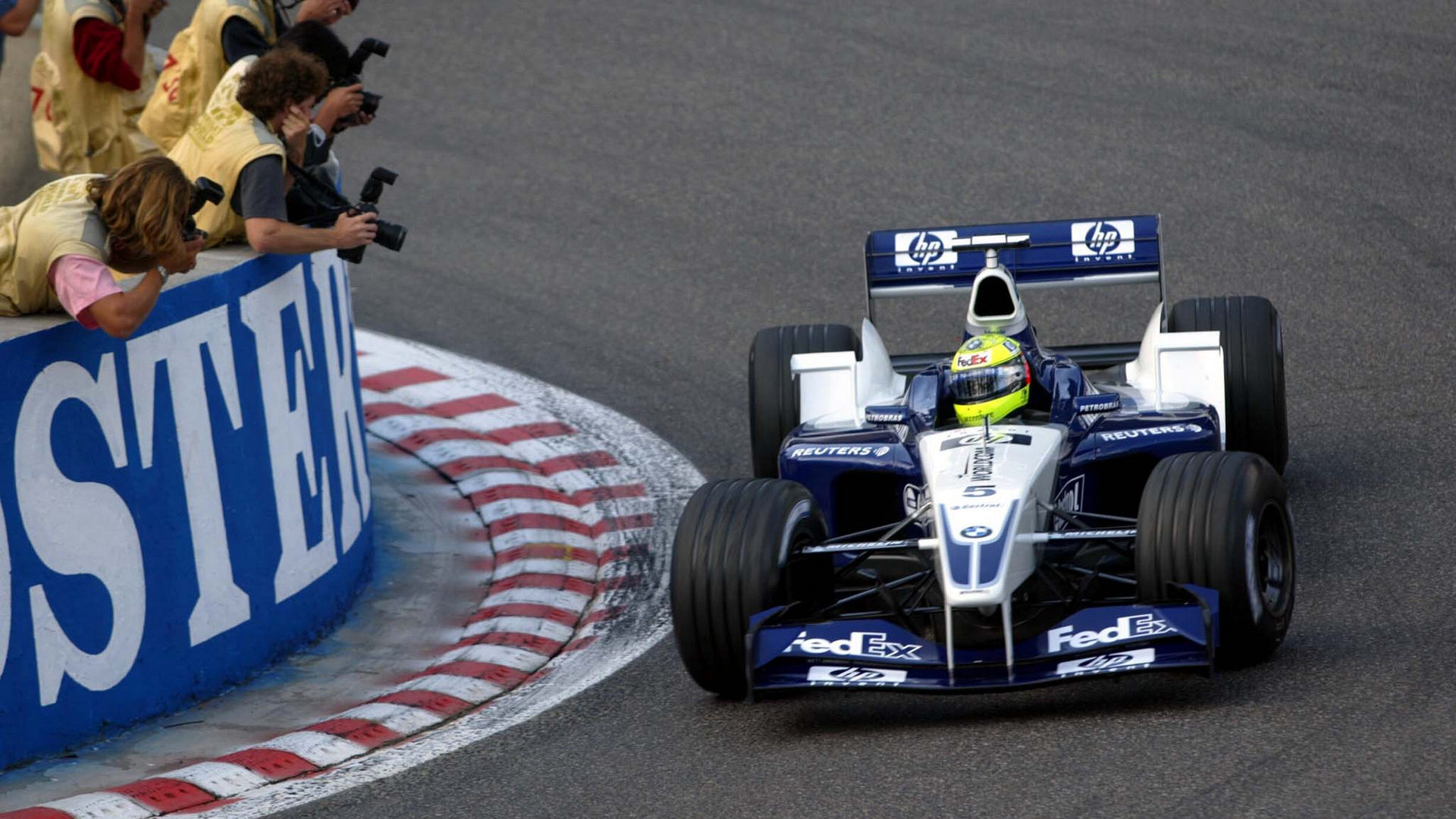 Ralf Schumacher, Williams FW24 BMW