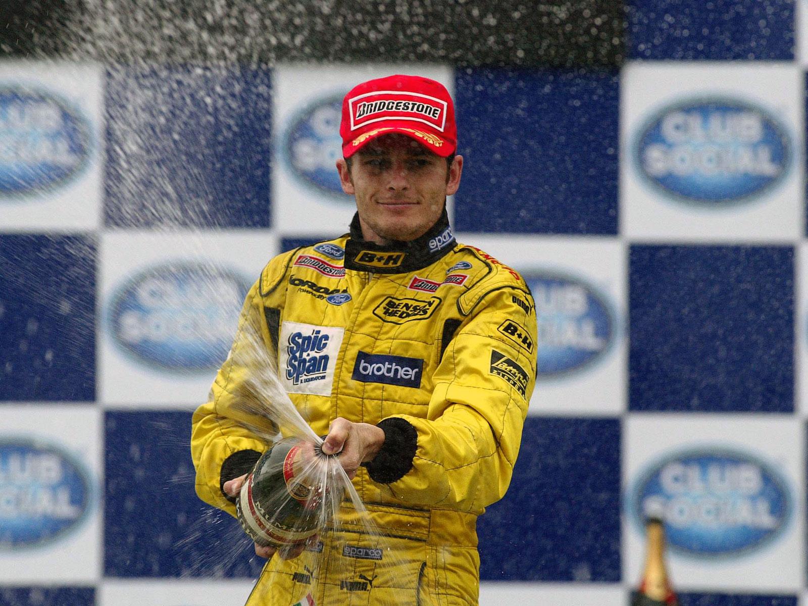 Giancarlo Fisichella first win 2003 Brazil F1 GP