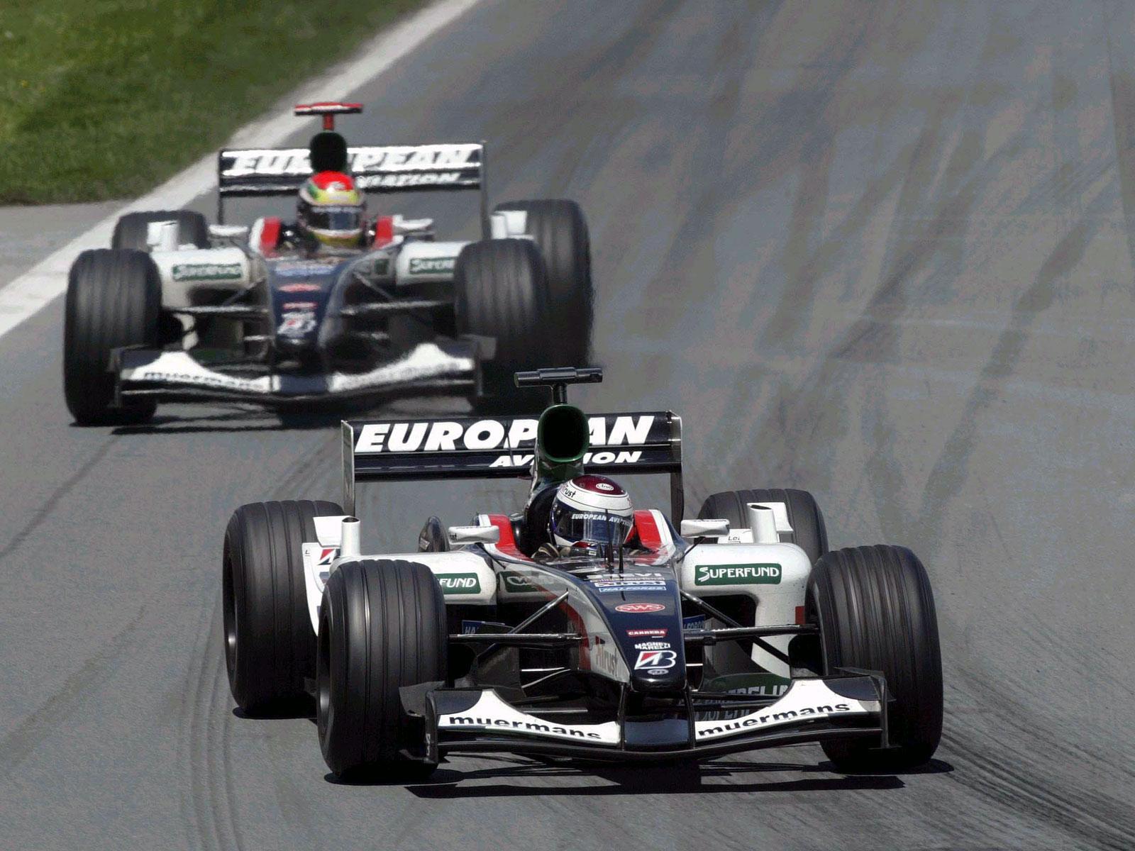Jos Verstappen, Minardi PS03, 2003 Canadian F1 GP