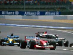 Olivier Panis, Toyota TF103, 2003 European F1 GP