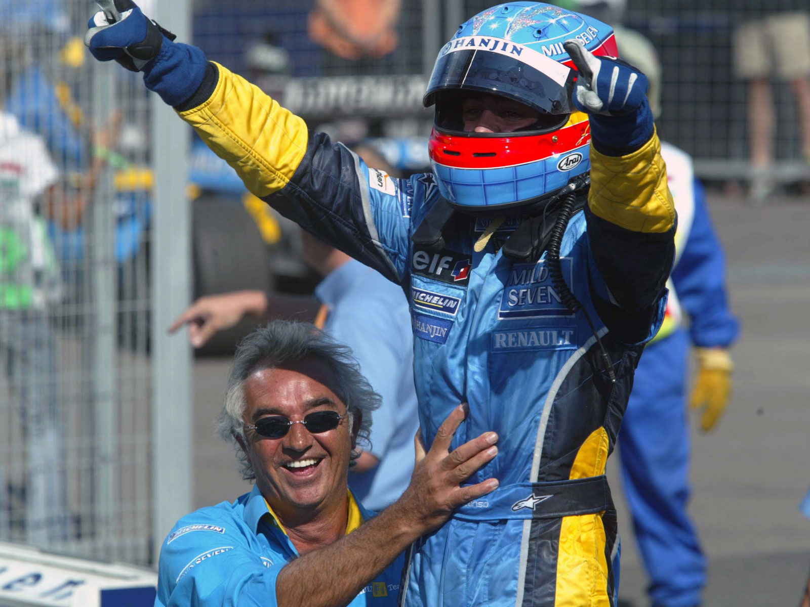 Fernando Alonso first victory Hungary
