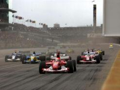 Start of the 2003 US F1 GP