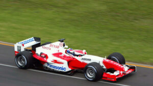Oliver Panis, Toyota TF104