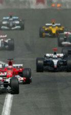 Start of 2004 Spanish F1 GP