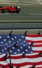 Michael Schumacher, Ferrari F2004 USA flag