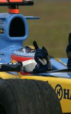 Fernando Alonso Renault 2005 Malaysia
