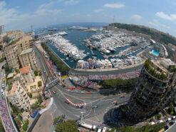 start of 2006 F1 GP fisheye lens