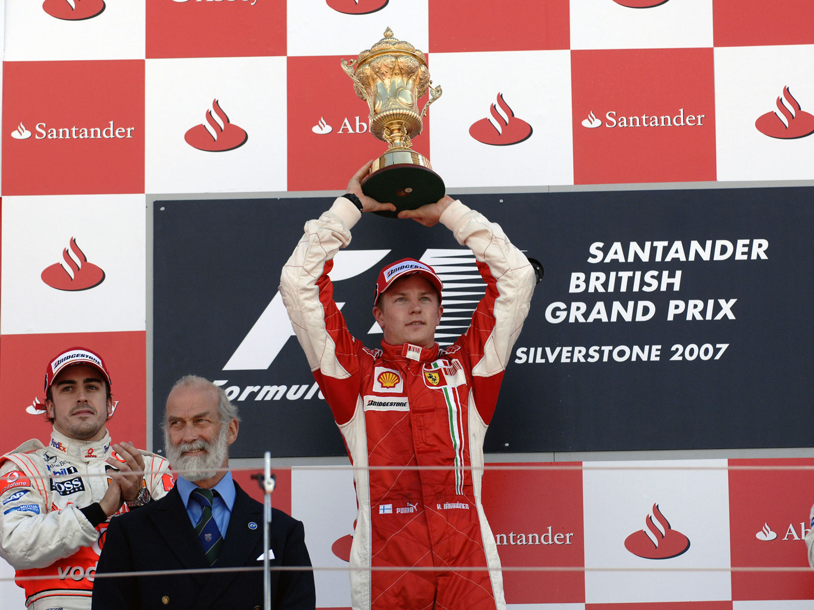 Results 2007 Formula 1 Grand Prix of Great Britain