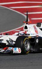 Kamui Kobayashi Sauber test C30 2011