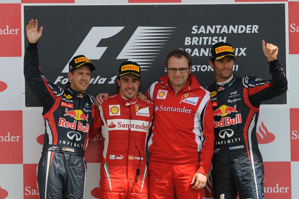 Results 2011 Formula 1 Grand Prix of Great Britain