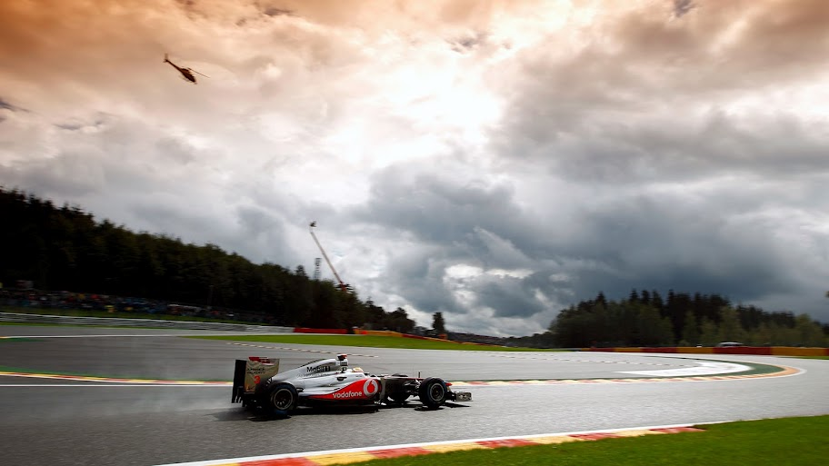 Lewis Hamilton MP4-26 Spa 2011