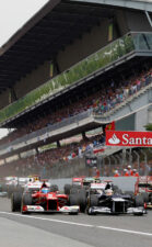HD Wallpapers 2012 Formula 1 Grand Prix of Spain