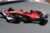 Ferando Alonso, Ferrari F10 driving in Monaco (2010)