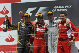 Results 2012 Formula 1 Grand Prix of Europe