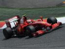Kimi Raikkonen, Ferrari F2009 driving on Catalunya circuit (2009)