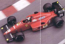 Gerhard Berger, Ferrari F1 87-88, 1988 Monaco GP