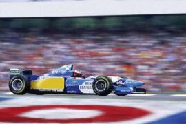 Michael Schumacher, Benneton B195. German Grand Prix 1995