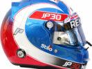 2017 Jolyon Palmer helmet