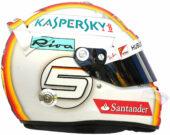 2017 Sebastian Vettel helmet