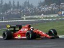 Jean Alesi, Ferrari 642/2 V12.. 1991 Mexican Grand Prix