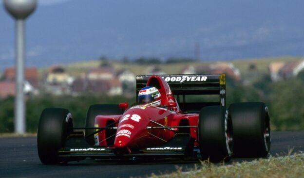 Ivan Capelli, Ferrari F92A 1992 Hungarian Grand Prix
