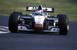 Mika Hakkinen driving the McLaren MP4/12 at the 1997 Canadian GP