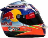Daniel Ricciardo helmet 2014