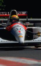 Ayrton Senna driving the McLaren MP4-6 Honda (1991)