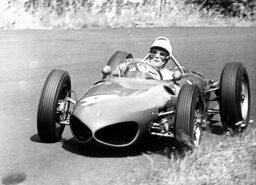 Phill Hill Ferrari 156 F1 car