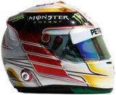 Lewis Hamilton helmet 2014