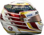 Lewis Hamlton helmet 2016