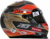 Romain Grosjean helmet 2012
