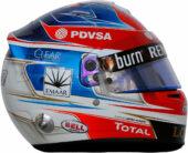 Romain Grosjean helmet 2014
