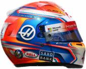 Romain Grosjean helmet 2016