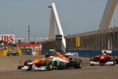 Paul di Resta, Force India VJM05, 2012 European GP