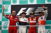 2012 Malaysian Grand Prix: F1 Race Results, Winner & Podium