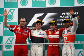Results 2012 Formula 1 Grand Prix of Malaysia