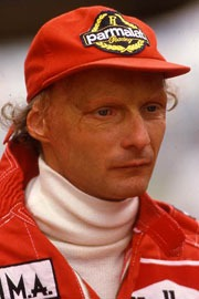 Niki Lauda: See his Wiki info, F1 Stats, Poles, GP Wins & Titles