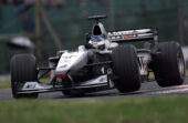 Mika Hakkinen, McLaren MP4-15 Mercedes 2nd position. Suzuka, Japan. 6-8 October 2000