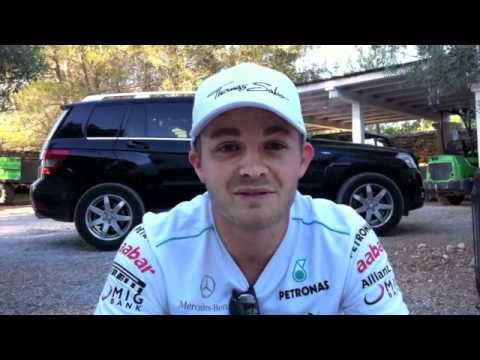 Nico Rosberg: Post-race message after P6 in Valencia 2012