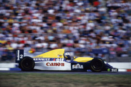 Alain Prost, Williams FW15, 1993 German GP
