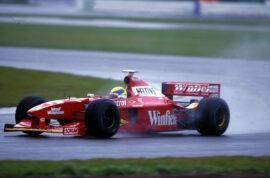 Huge crash Jacques VIlleneuve Belium GP 1998