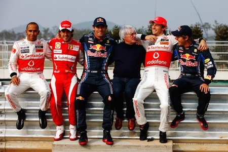 Black driver has 'only respect' for Ecclestone