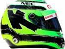 2016 Nico Hulkenberg helmet