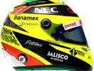 2016 Sergio Perez helmet