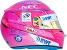 2018 helmet Esteban Ocon
